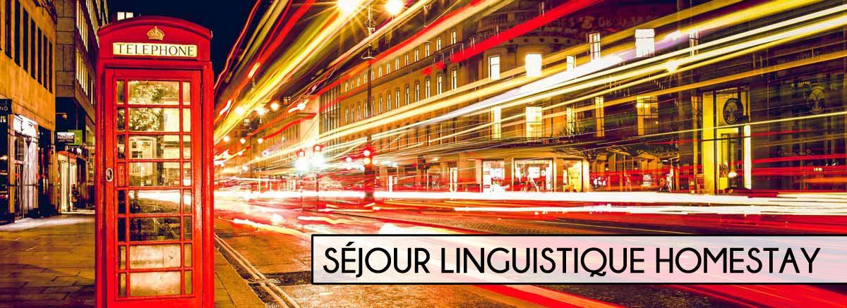 séjour linguistique